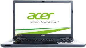 Acer Aspire E15 Midnight Black