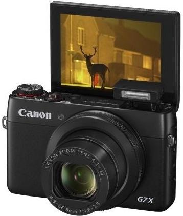 Canon PowerShot G7 X nadchne malým tělem