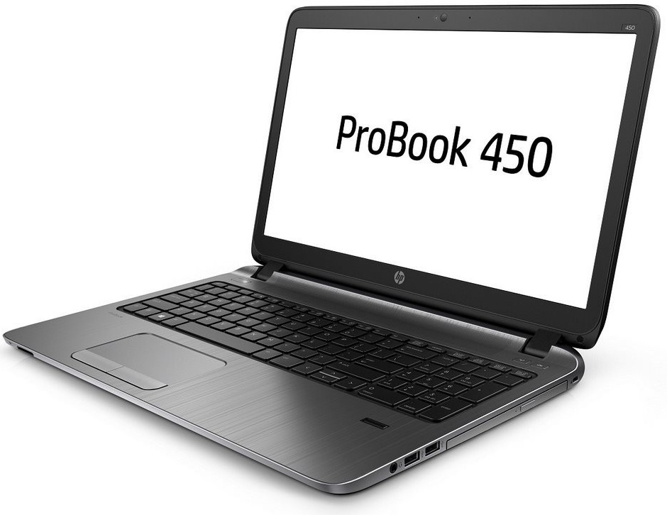 HP ProBook 450 G2 je robustní i elegantní zároveň
