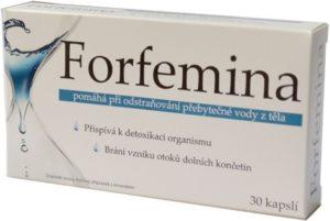 Forfemina na odvodnění organismu