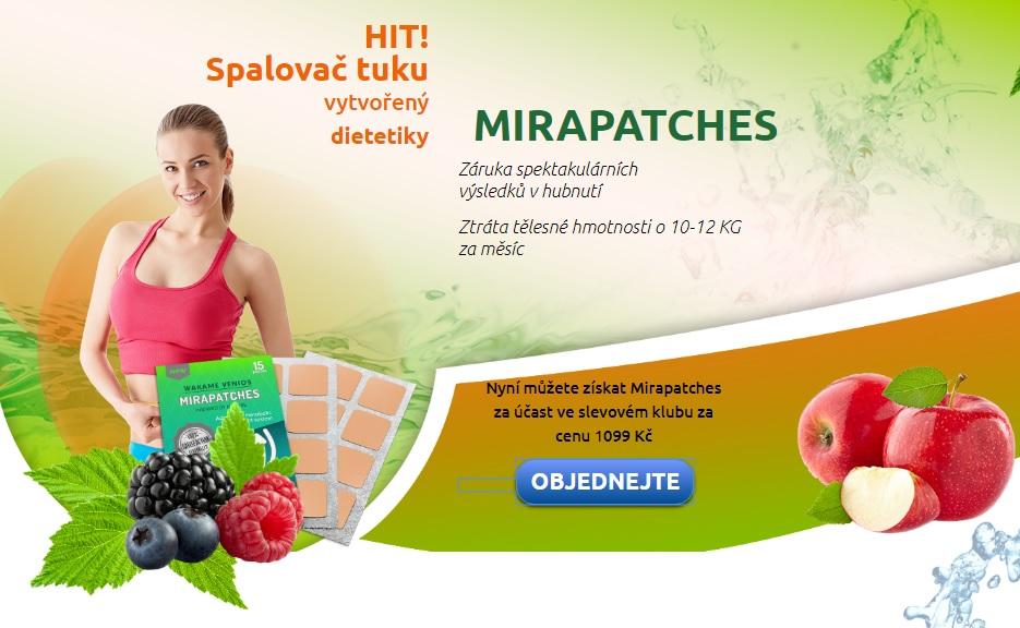Náplasti na hubnutí Mirapatches