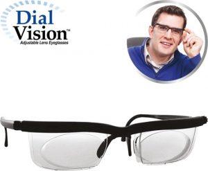 nastavitelné dioptrické brýle